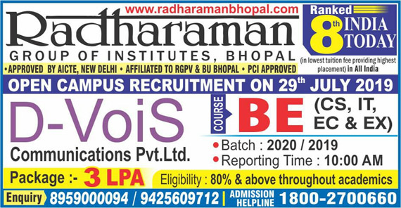 THE RGI:Radharaman group of Institutes,Bhopal,Madhya Pradesh